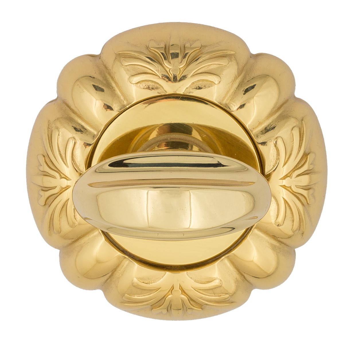 Bathroom Turn & Release Venezia WC-2 D5 Polished Brass