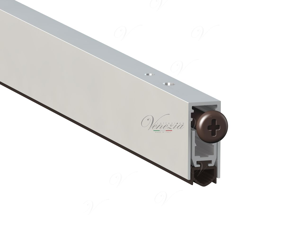 Internal Automatic Bottom Door Seal Venezia 420/930 mm With One Ajustable Point