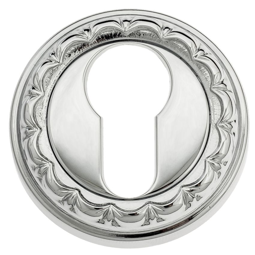 Euro Escutcheon Venezia CYL-1 D2 Polished Chrome