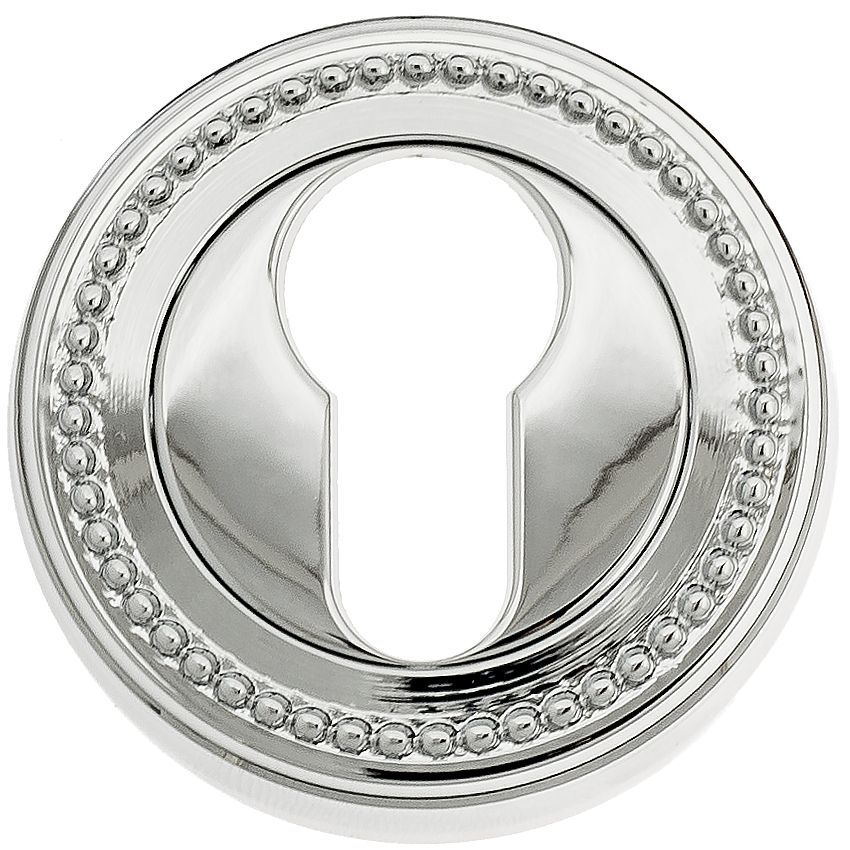 Euro Escutcheon Venezia CYL-1 D3 Polished Chrome