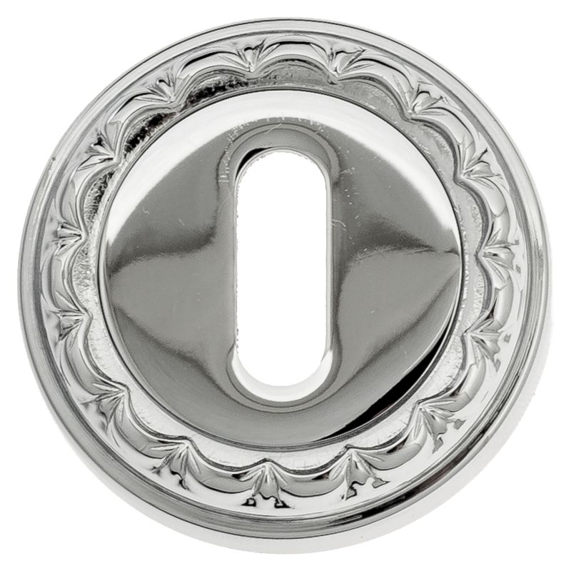 Keyhole Escutcheon Venezia KEY-1 D2 Polished Chrome