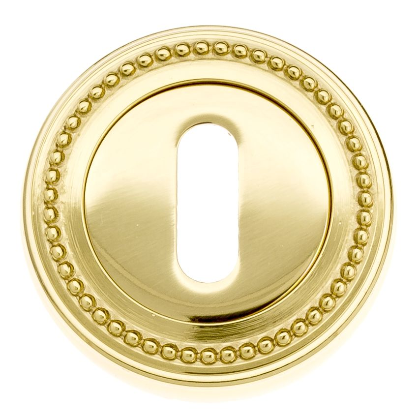 Keyhole Escutcheon Venezia KEY-1 D3 Polished Brass