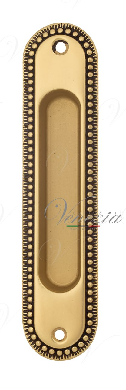 Handle For Sliding Door Venezia U133 French Gold + Brown (1pcs.)